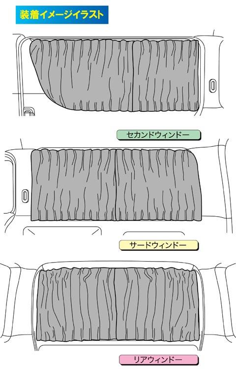 車種別カーテン